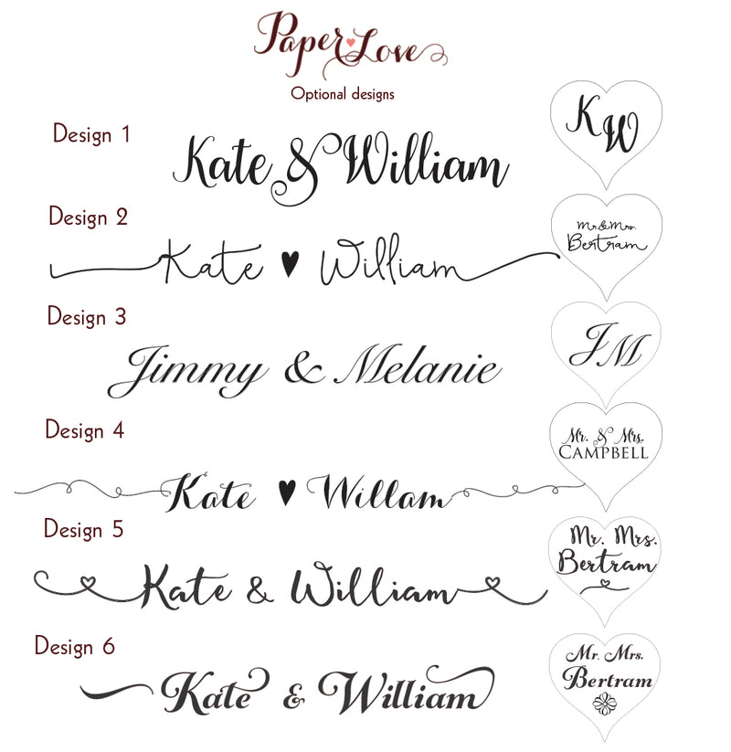Personalised Wooden Wedding Guestbook Laser Cut, Square Wedding Heart Guestbook