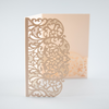 Laser Cut Covers ONLY Pocket Fold Invitations 7 colours