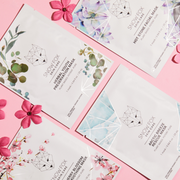Discovery set includes 1 x Japanese Cherry Blossom & White Tea Smoothing Mask (Single Sheet) 1 x Herbal Youth Mask (Single Sheet) 1 x Hot Stone Facial Mask (Single Sheet)