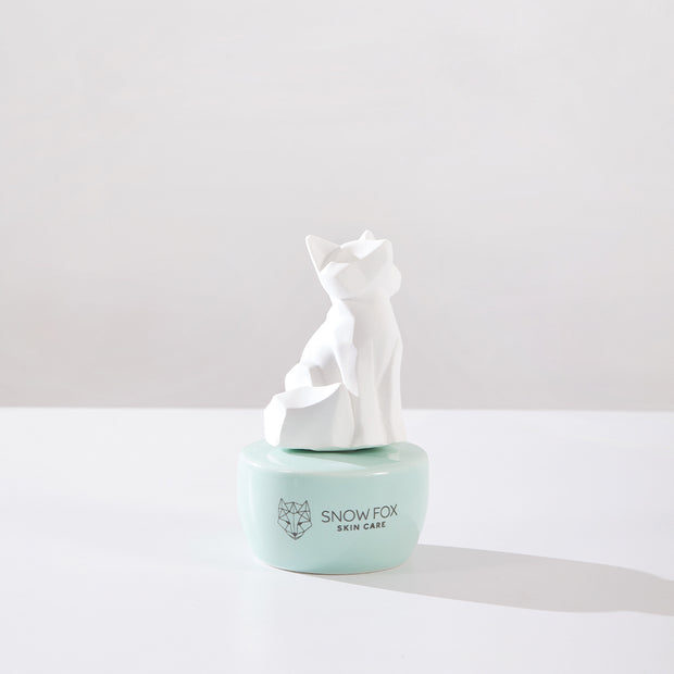 Ceramic diffuser and 100% natural organic certified essential oils made in Australia Snow Fox skincare