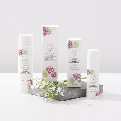 Combo Skin Recovery balancing Hyaluronic Acid based hydrating set