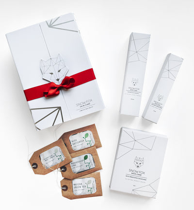 Snow Fox All-In-One DIY Gift Box