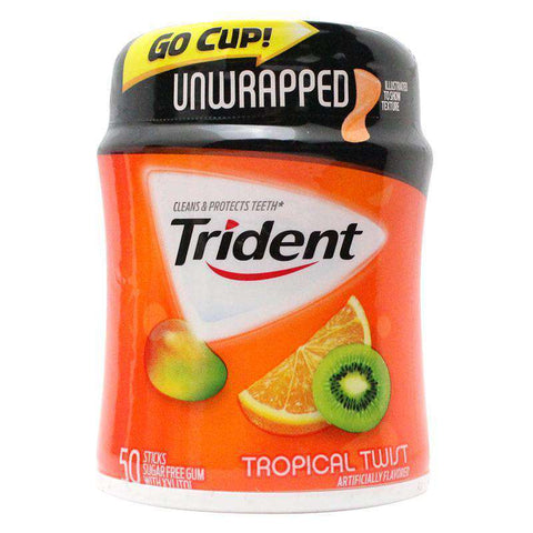 Trident Gum Safe Can