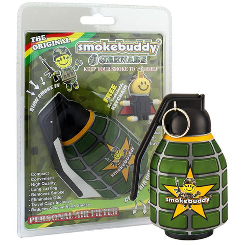 Smokebuddy Original Personal Air Filter Grenade Edition