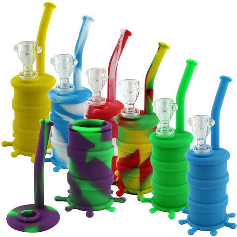 "8"" Oil Barrel Splash Silicone Oil Rig"