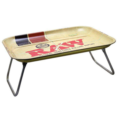 Raw XXL Lap Metal Rolling Tray