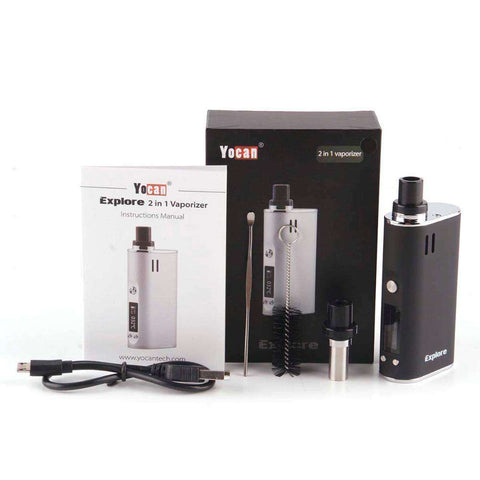 Yocan Explore Vape Kit for Wax and Dry Herb