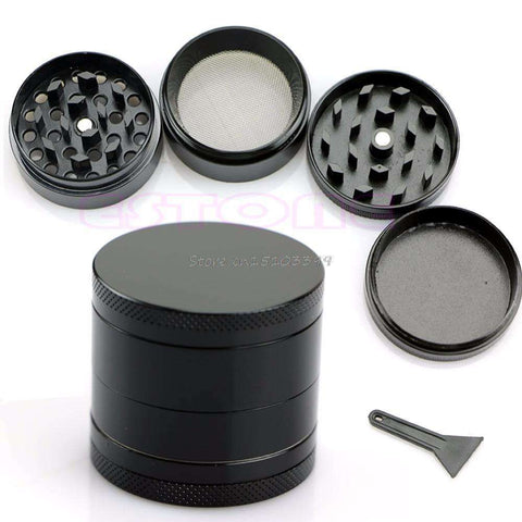 Black 4 Layer Grinder