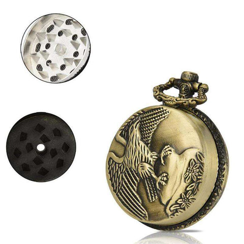 44MM 3 Layer Pocket Watch Grinder