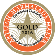 World Marmalade Festival Gold Artisan Award 2016