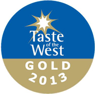 Taste of the West GOLD Award 2013