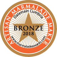 World Marmalade Festival Bronze Artisan Award 2018