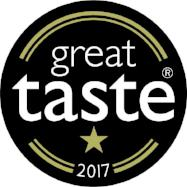 Great Taste 1 Star GOLD Award 2017
