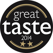 Great Taste 2 Star GOLD Award 2014