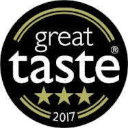 Great Taste 3 Star GOLD Award 2017