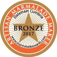 World Marmalade Festival Bronze Artisan Award 2017