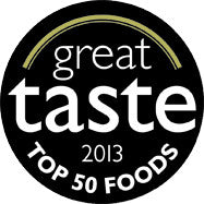 Great Taste TOP 50 PRODUCT Award 2013
