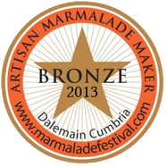 World Marmalade Festival Bronze Artisan Award 2013