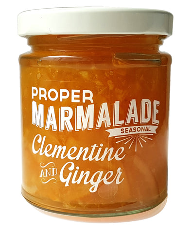 Clementine and Ginger Marmalade