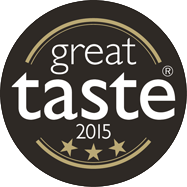 Great Taste 3 Star GOLD Award 2015