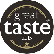 Great Taste 1 Star GOLD Award 2015