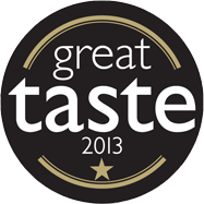 Great Taste 1 Star GOLD Award 2013