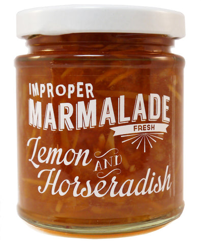 Lemon and Horseradish Marmalade