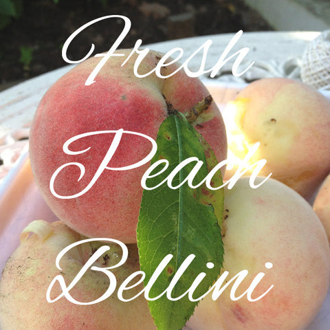 Fresh Peach Bellini Recipe