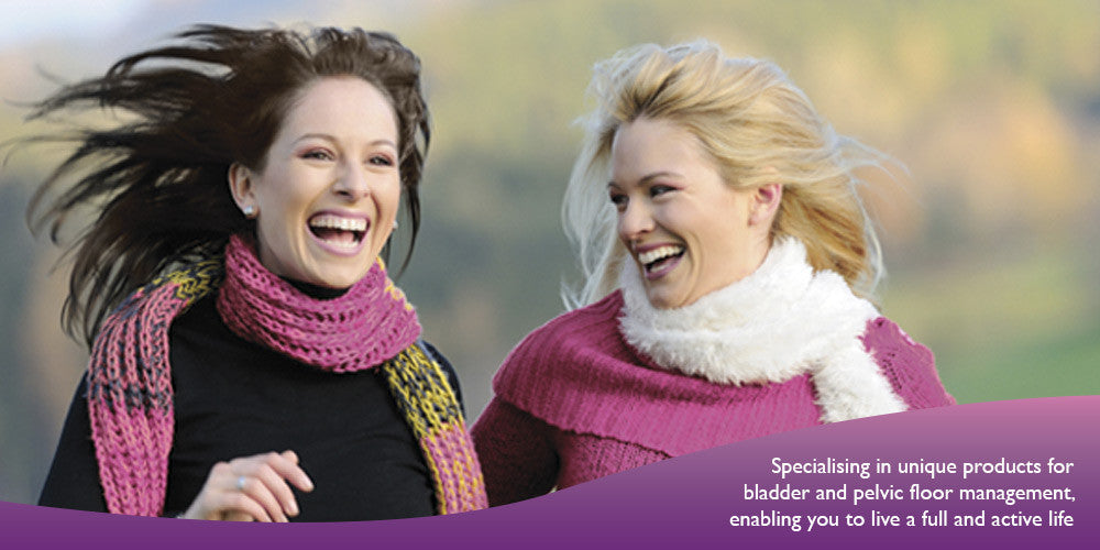Specialising in unique products for bladder and pelvic floor management, enabling you to live a full and active life