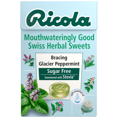 Bracing Glacier Peppermint 45g sugar free box