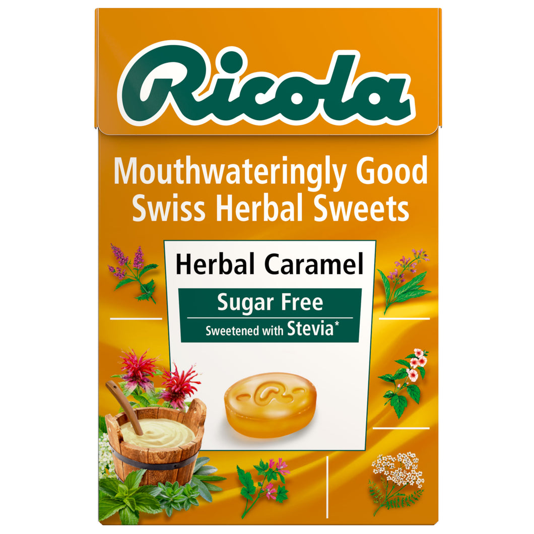 Creamy Herbal Caramel <br>45g sugar free box