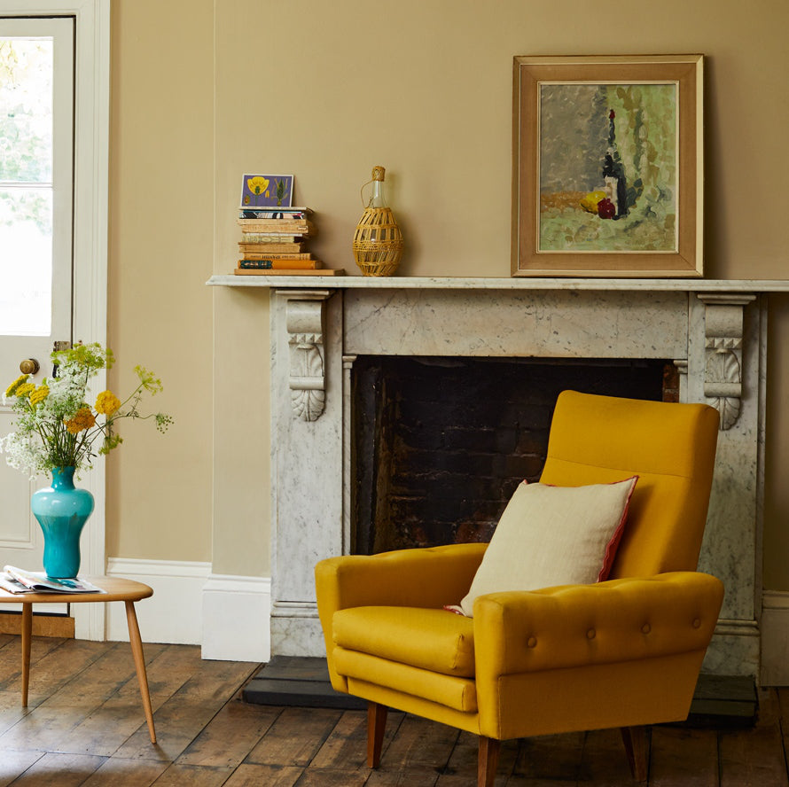 Cosy living room colours to make a room look warmer