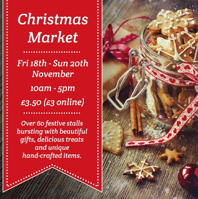 Hestercombe House Christmas Market... this weekend!