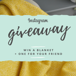 Giveaway! Win a throw + one for a friend