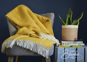 Mellow Yellow Blankets and Throws
