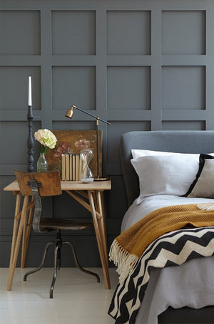 How to layer textiles to create a cosy bedroom