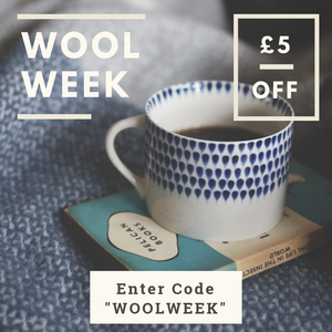 Wool Week 2018 - £5 off any full-size throw