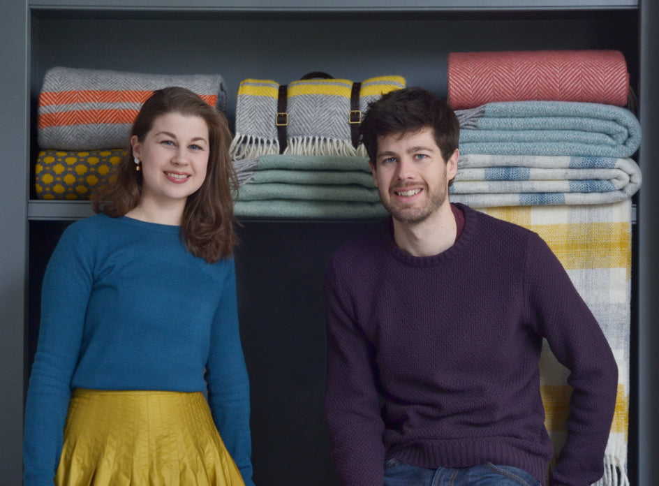 Bethan and Joe - The British Blanket Co