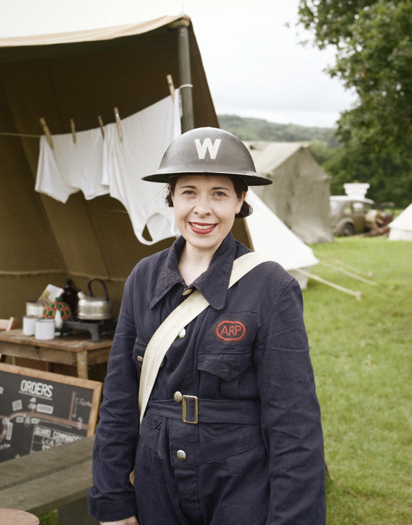 1940s costume Dig for Victory Show