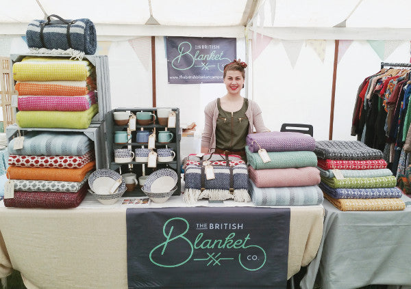 The British Blanket Company stall at Dig for Victory
