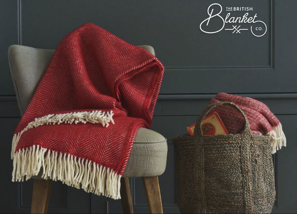 Christmas throws and blankets The British Blanket Company