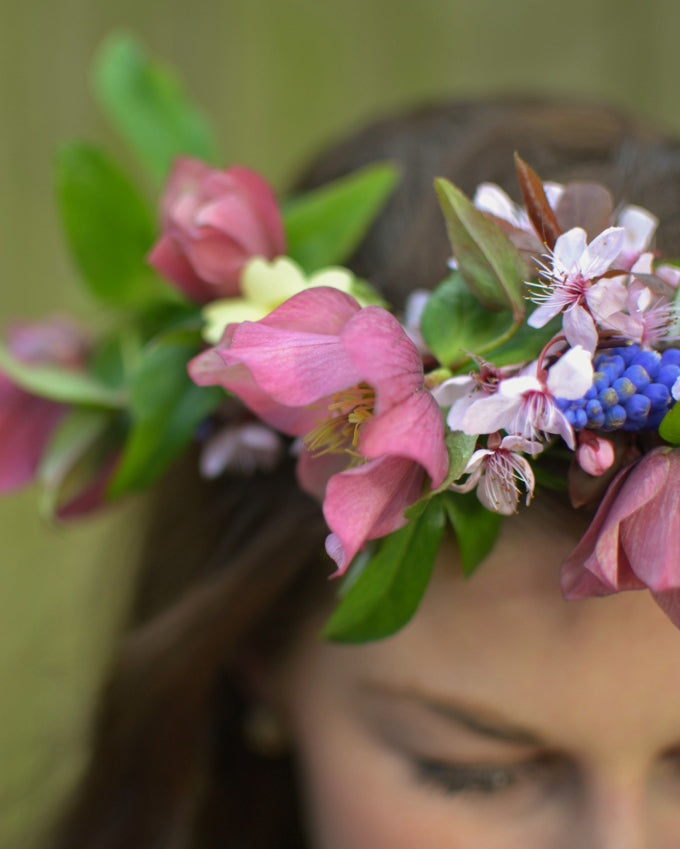 how to make a flower crown headband The British Blanket Company blog