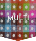 Multicoloured Throws - The British Blanket Company