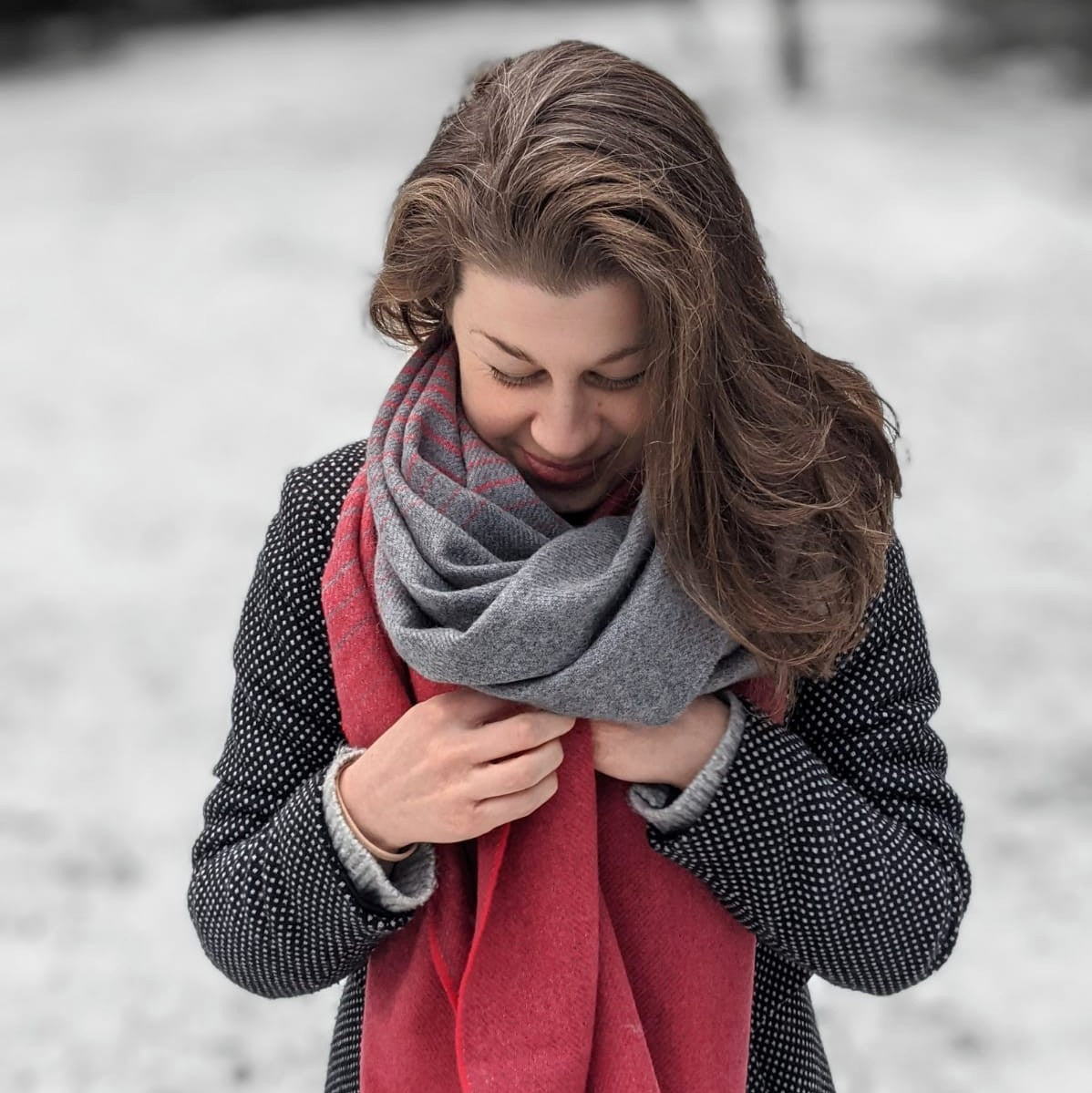 Blanket scarf from The British Blanket Company