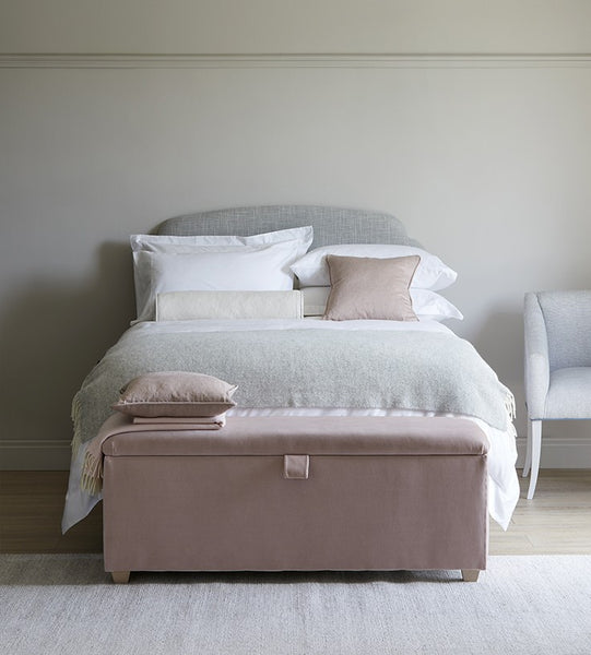 pink and white bedroom The Dormy House