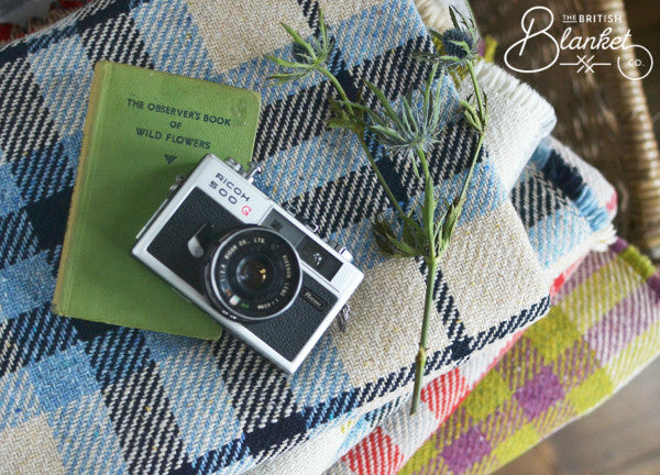 New Eco-Check Recycled Wool Blankets - The British Blanket Company