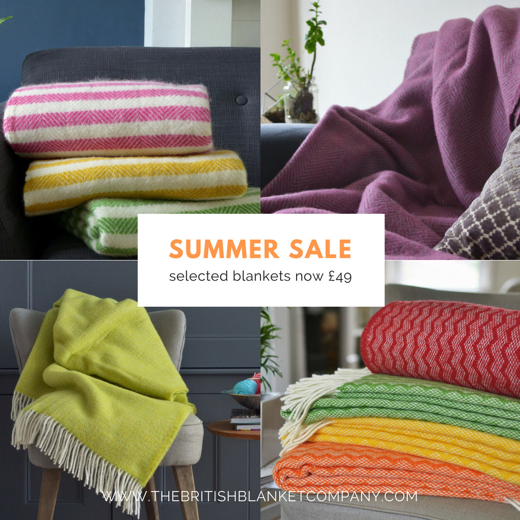 Summer Sale at The British Blanket Company
