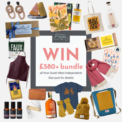 Giveaway the British blanket company south west indies prize bundle