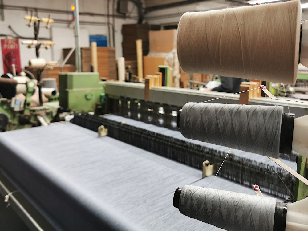 merino lambswool blankets woven at the mill in Ireland
