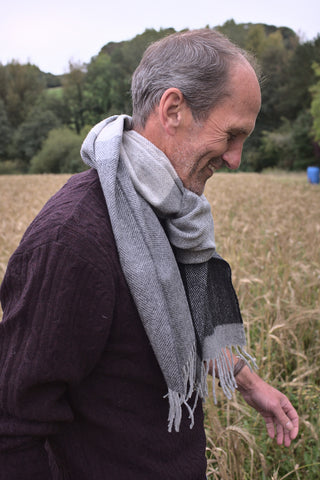 gifts for grandparents - scarf for grandad